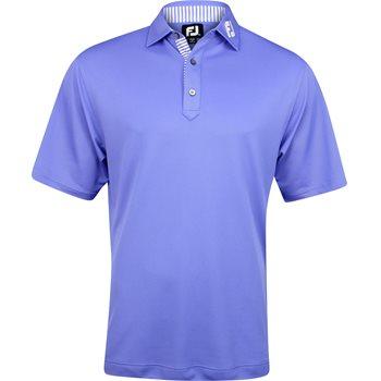 FootJoy ProDry Performance Stretch Pique Tour Logo Collar Shirt Polo Short Sleeve Apparel