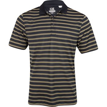 Cutter & Buck DryTec Backspin Stripe Shirt Polo Short Sleeve Apparel