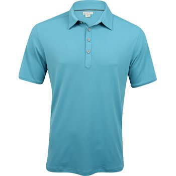 Ashworth Matte Interlock Solid Shirt Polo Short Sleeve Apparel