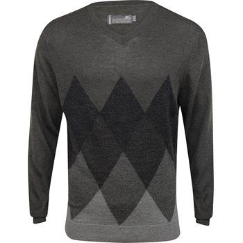 Mizuno Breath Thermo Argyle Sweater V-Neck Apparel