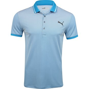 Puma Lux Pique Shirt Polo Short Sleeve Apparel