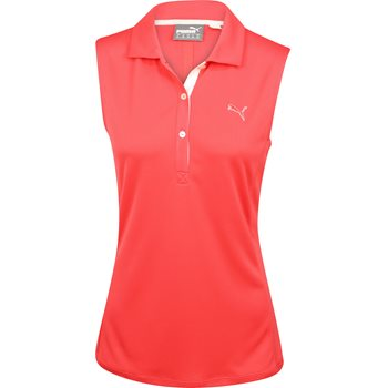 Puma Tech Sleeveless Shirt Polo Short Sleeve Apparel