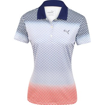 Puma Chevron Fade Shirt Polo Short Sleeve Apparel