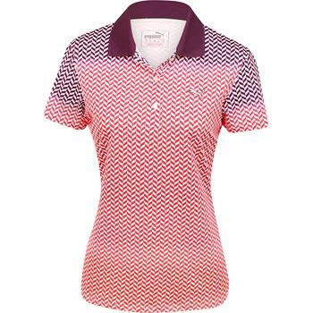 Puma Chevron Fade Shirt Polo Short Sleeve Apparel