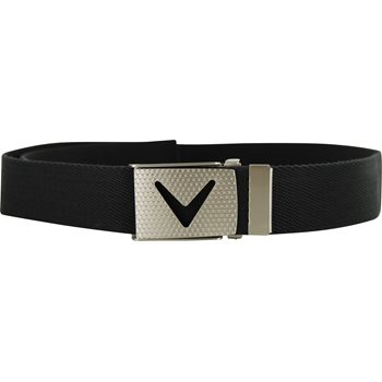 Callaway Cut-To-Fit Solid Webbed Accessories Belts Apparel