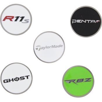 TaylorMade TM 5 Pack Ball Marker Accessories