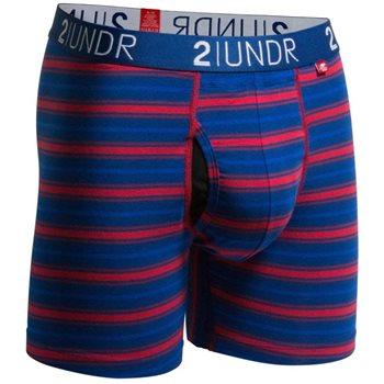 2UNDR Swingshift Stripes Base Layer Boxer Brief Apparel