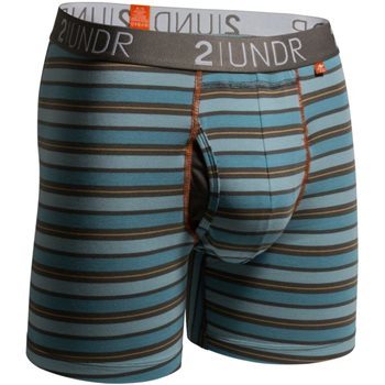 2UNDR Swingshift Stripes Base Layer Boxer Brief Apparel
