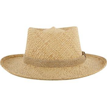 Dorfman Pacific Gambler Headwear Straw Hat Apparel