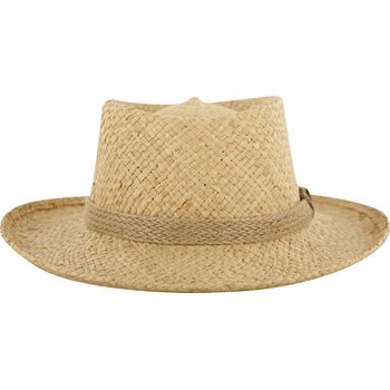 Dorfman Pacific Gambler Headwear Straw Hat Apparel
