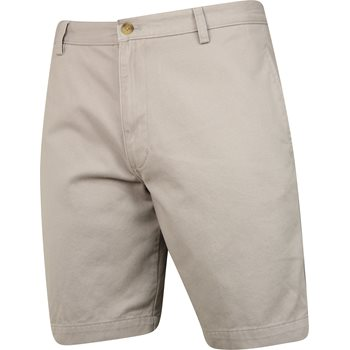 Chaps Solid Twill Shorts Flat Front Apparel