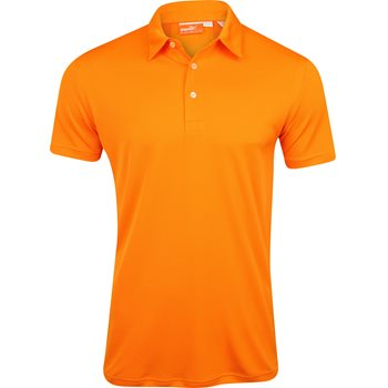 Puma Golf Tech Cresting Shirt Polo Short Sleeve Apparel