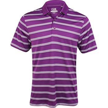 Cutter & Buck DryTec Vertex Stripe Shirt Polo Short Sleeve Apparel