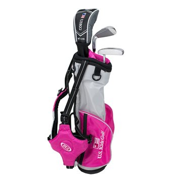 US KIDS U/L 39 Silver/Pink Club Set Golf Club