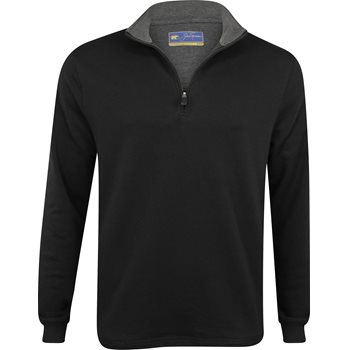 Jack Nicklaus Terry 1/4 Zip Mock Outerwear Pullover Apparel