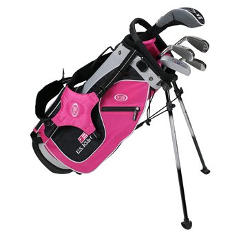 US KIDS U/L 48 Pink/Black/Silver Club Set Golf Club