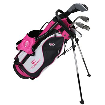 US KIDS U/L 51 Black/White/Pink Club Set Golf Club
