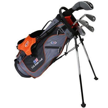 US KIDS U/L 51 Grey/Orange Club Set Golf Club