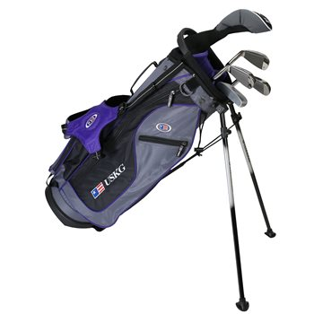US KIDS U/L 54 Grey/Purple Club Set Clubs