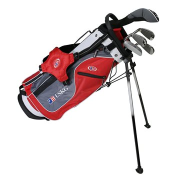US KIDS U/L 54 Red/Grey/White Club Set Clubs