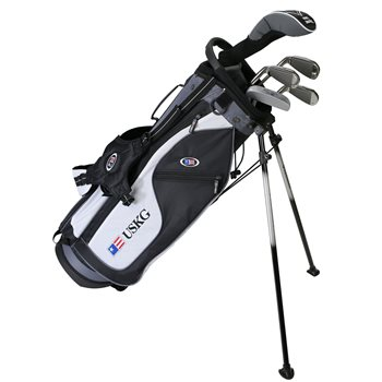 US KIDS U/L 57 Black/White/Grey Club Set Golf Club