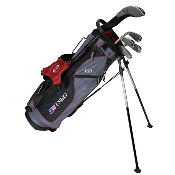 US KIDS U/L 60 Grey/Maroon Club Set Golf Club