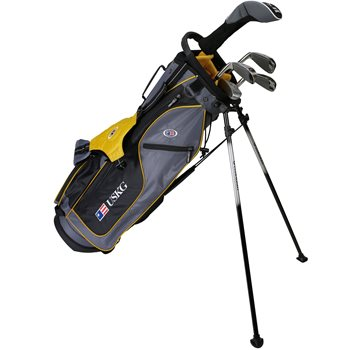 US KIDS U/L 63 Grey/Gold Club Set Golf Club