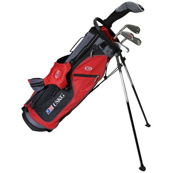 US KIDS U/L 63 Red/Black/Grey Club Set Golf Club