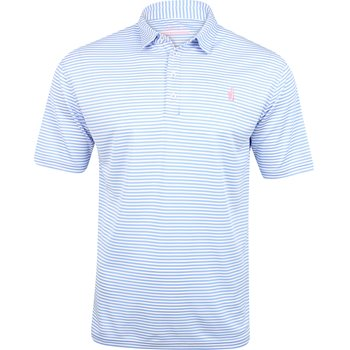Johnnie-O Bunker Striped Shirt Polo Short Sleeve Apparel
