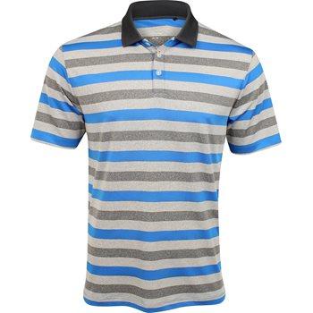 Columbia Omni-Freeze Heather Stripe Shirt Polo Short Sleeve Apparel