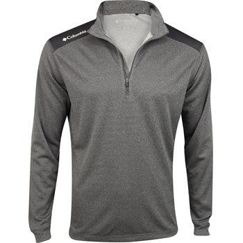 Columbia Omni-Wick Top Of Green 1/4 Zip Outerwear Pullover Apparel