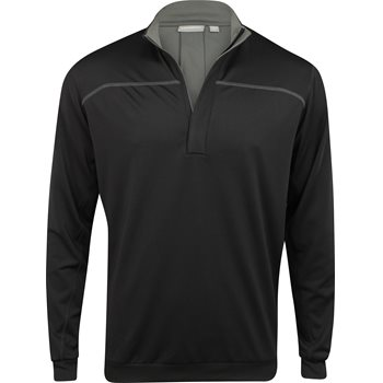 Ashworth Performance EZ-SOF Wind-Lined Outerwear Pullover Apparel