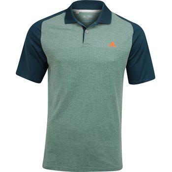Adidas ClimaCool Aeroknit Blocked Shirt Polo Short Sleeve Apparel