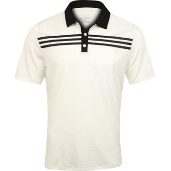 Adidas 3-Stripes Textured Shirt Polo Short Sleeve Apparel