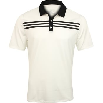 Adidas 3-Stripes Textured Shirt Polo Short Sleeve Apparel
