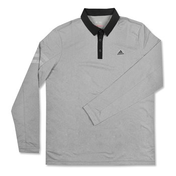 Adidas ClimaWarm 3-Stripes LS Shirt Polo Long Sleeve Apparel