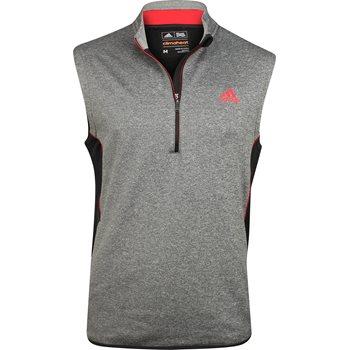 Adidas ClimaHeat Fleece 1/4 Zip Outerwear Vest Apparel