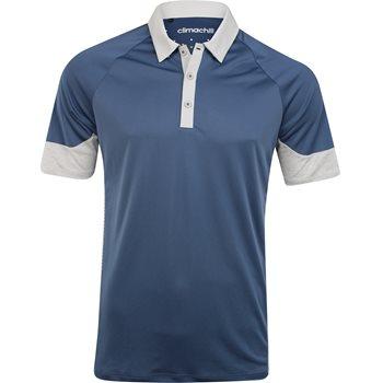Adidas ClimaChill Print Block Shirt Polo Short Sleeve Apparel