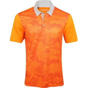 Adidas ClimaChill Camo Print Shirt Polo Short Sleeve Apparel