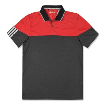 Adidas ClimaChill 3-Stripes Block Shirt Polo Short Sleeve Apparel