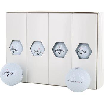 Callaway HEX Chrome 3 PLUS Tour Select Golf Ball Balls