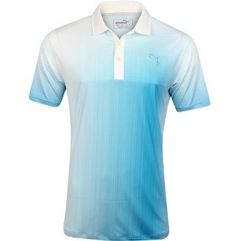 Puma Grid Fade Shirt Polo Short Sleeve Apparel