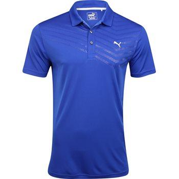 Puma Prism Stripe Shirt Polo Short Sleeve Apparel