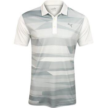 Puma SS Ice Stripe Shirt Polo Short Sleeve Apparel