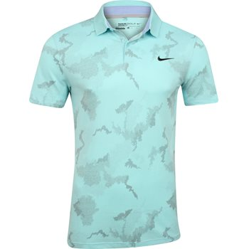Nike MDN Fit TR Dry Print Shirt Polo Short Sleeve Apparel