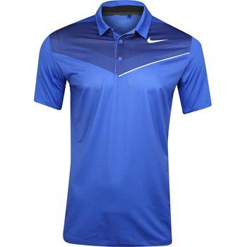 Nike Dri-Fit Golf Mobility Print Shirt Polo Short Sleeve Apparel