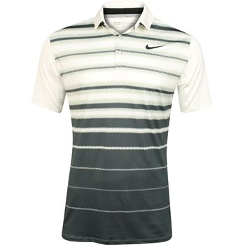 Nike Dri-Fit Mobility Fade Stripe Shirt Polo Short Sleeve Apparel