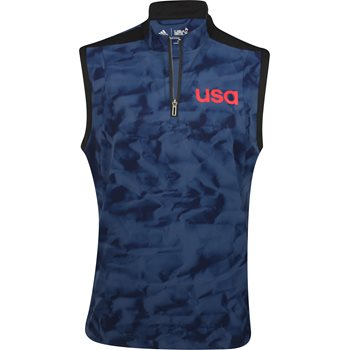 Adidas Team USA ClimaStorm Competition Wind Outerwear Vest Apparel