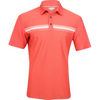 Ashworth Engineer Stretch Pique Shirt Polo Short Sleeve Apparel