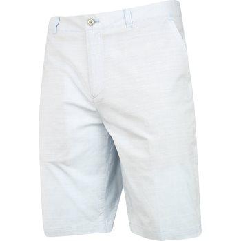 Ashworth Stretch Pinstripe Slub Shorts Flat Front Apparel